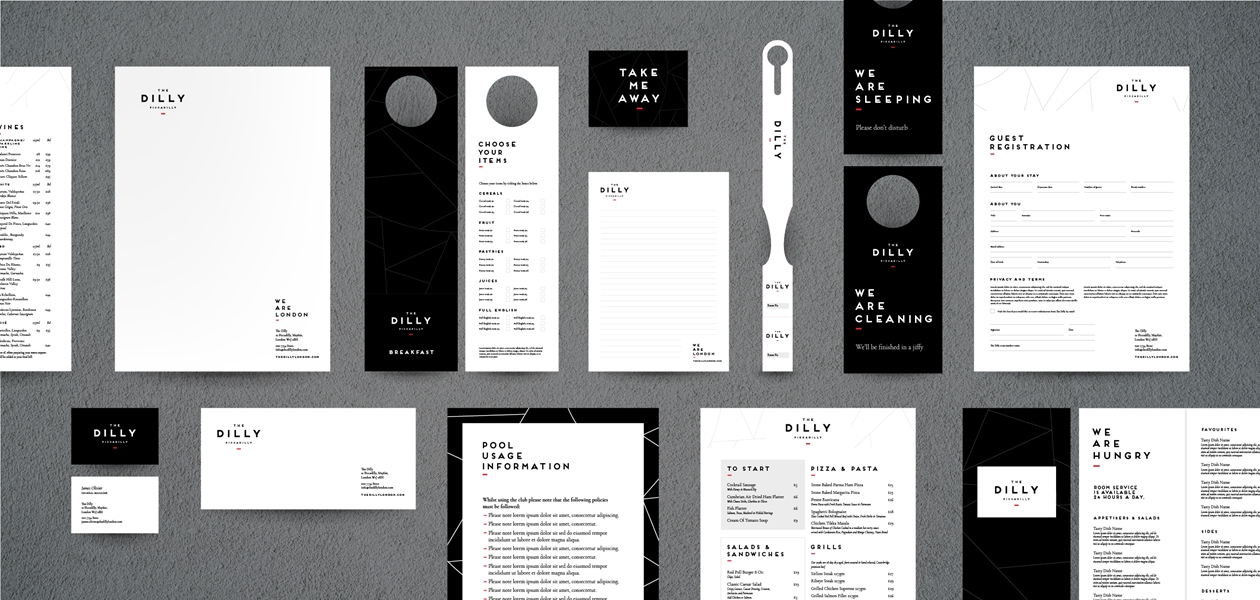 The Dilly Brand Stationery
