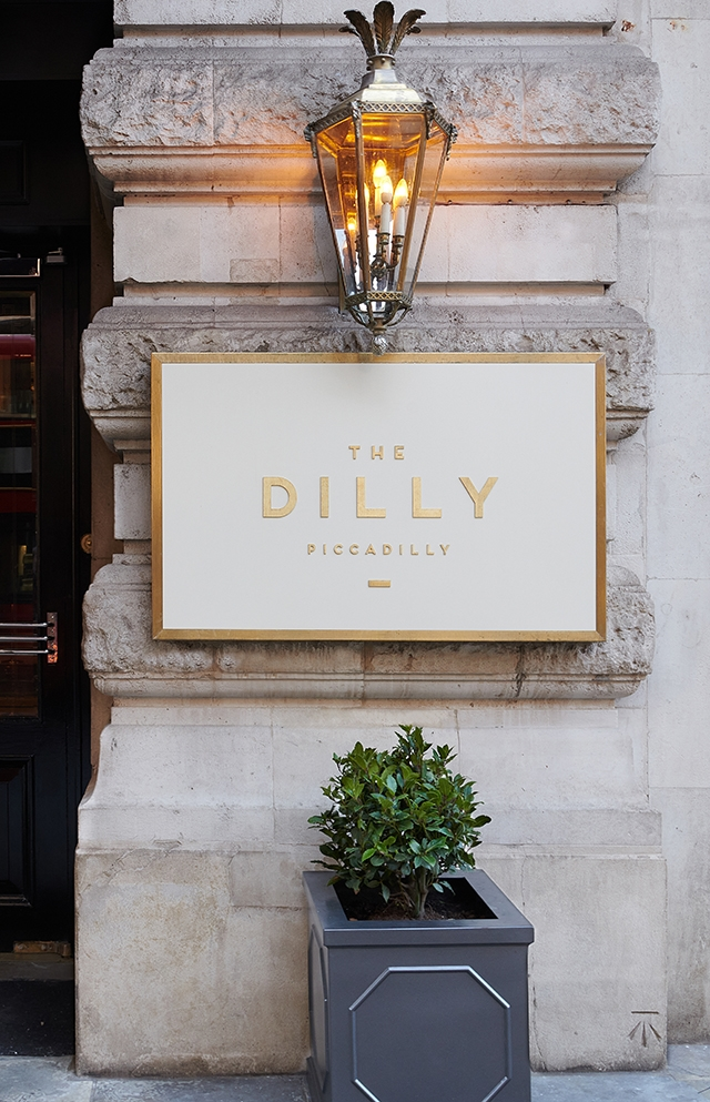 The Dilly Signage
