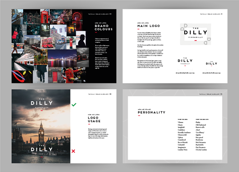 The Dilly Brand Guidelines